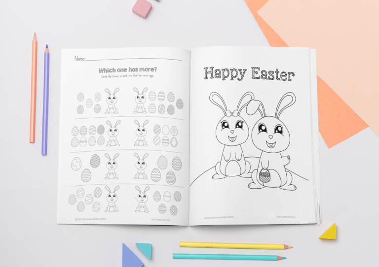 Easy No-Prep Easter Packet