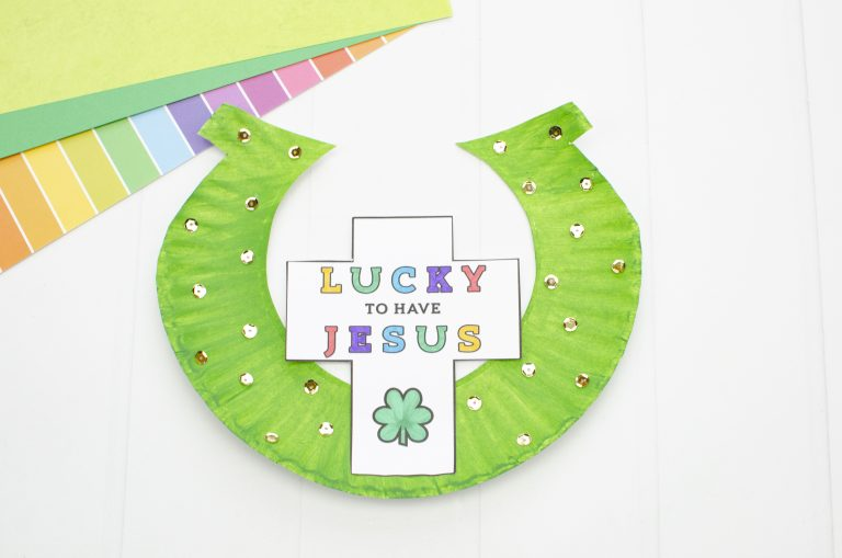 Lucky to Have Jesus – Christian St. Patricks Day Craft for Preschool